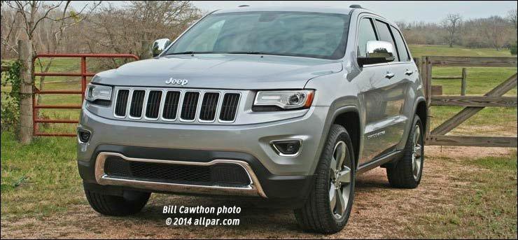 2014-15 Jeep Grand Cherokee Diesel Road Tests