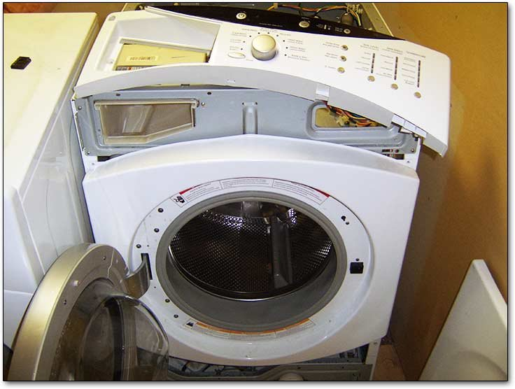 ge front loader washing machine problems