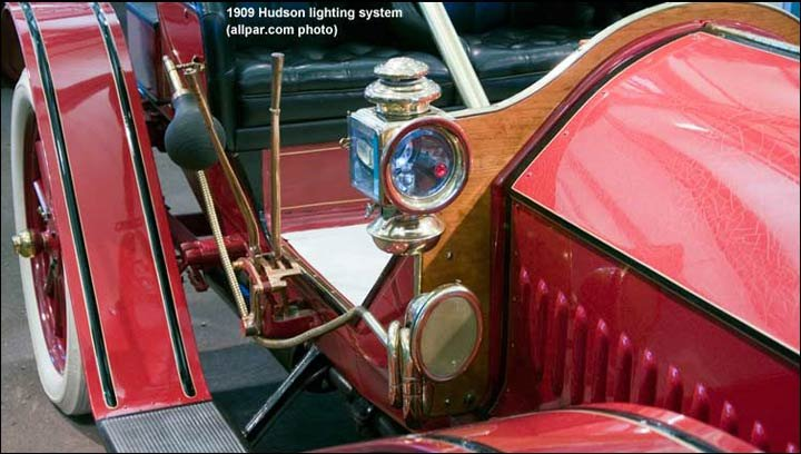 Hudson kerosene lights