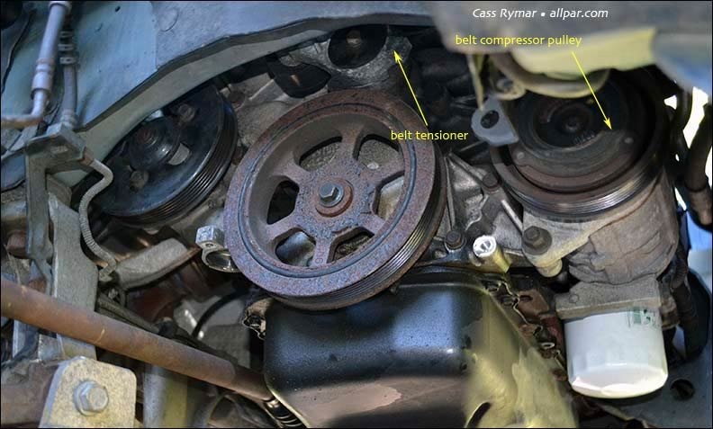16fdf2c3 water pump replacement on 2002 (2001 07) chrysler town &country  at crackthecode.co