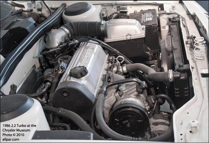 19 turbo mopar (chrysler, dodge, plymouth) 2 2 turbo engines mild to hot power  at webbmarketing.co