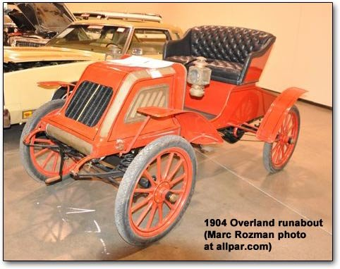 1904 Overland runabout