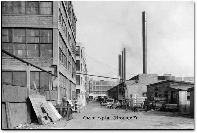 1911 Chalmers plant