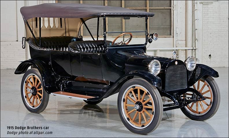 In 1918 Dodge Produced Over 60 000 Cars Along With A 155 Mm Gun Recoil System For The Allied Forces Mainly French Army Still Engaged Fighting