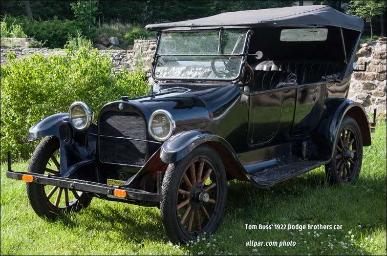 1922 dodge brothers convertible car review. Black Bedroom Furniture Sets. Home Design Ideas