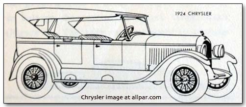 1924 chrysler