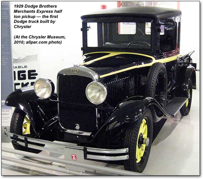 1929 Dodge Brothers pickp truck