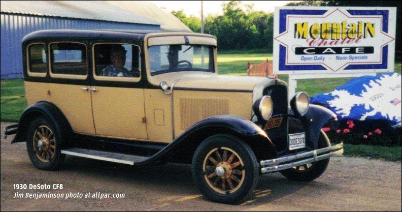 Plymouth and desoto buyer 39 s guide 1929 1939 for 1929 dodge 4 door sedan