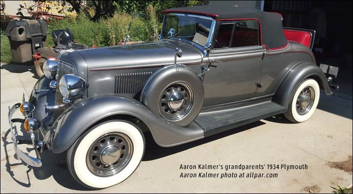 1932 Plymouth car