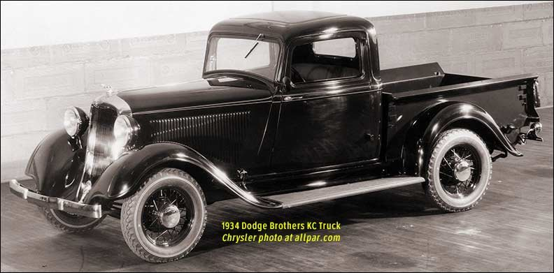 1934 packard wiring diagram history of the dodge pickup trucks  1921 1953  history of the dodge pickup trucks  1921 1953