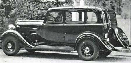 1934 Plymouth car