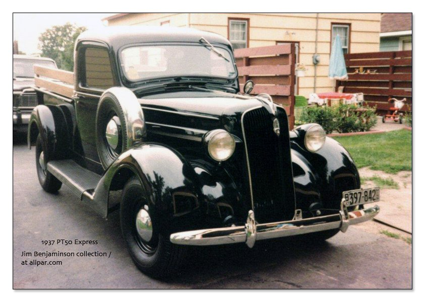 1937 Plymouth Express