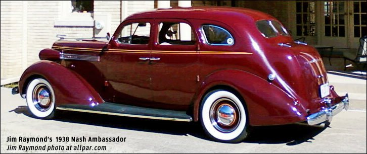 rear view of 1938 nash