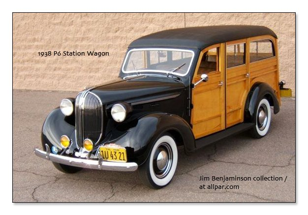 1938 Station Wagon