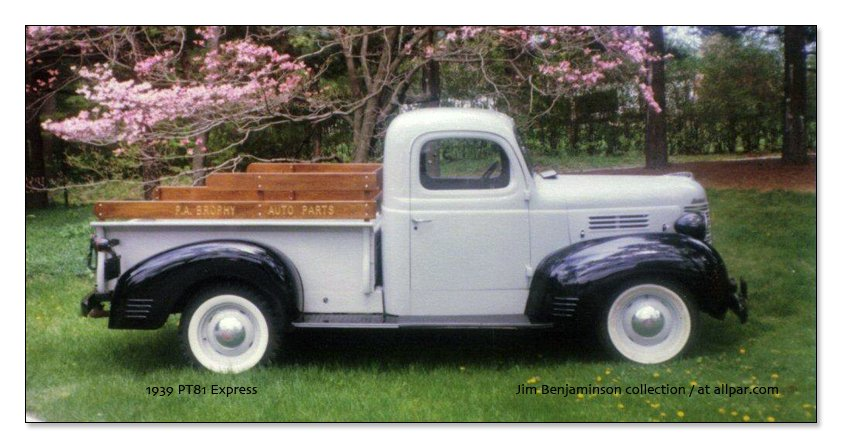 1938 Plymouth trucks