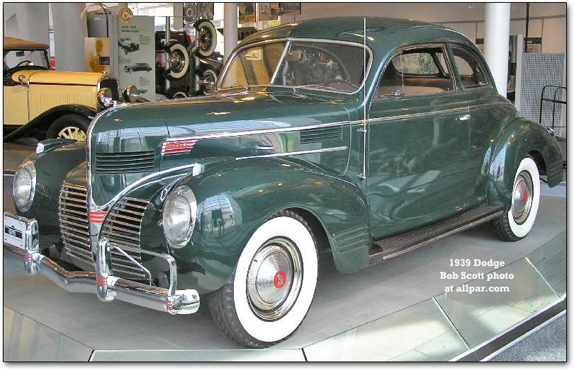 1939 luxury liner dodge
