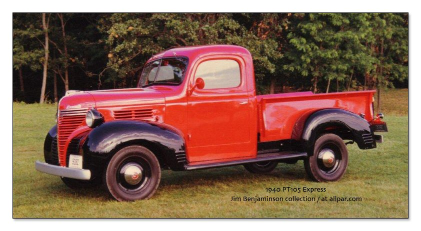 1940 Plymouth Truck