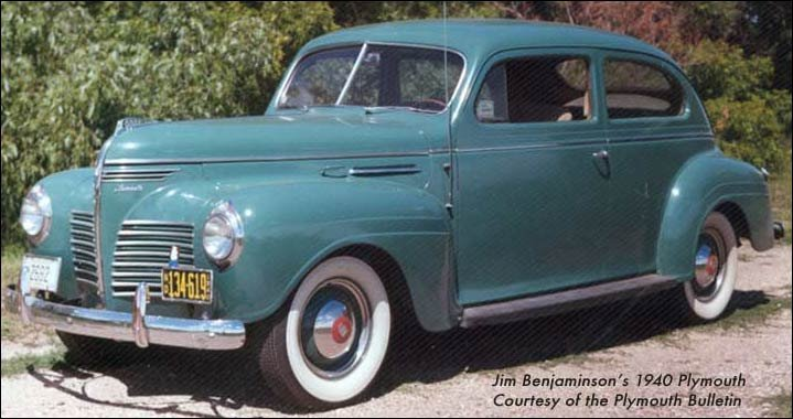 1940 Plymouth cars