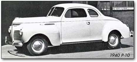 1940 Plymouth P-10