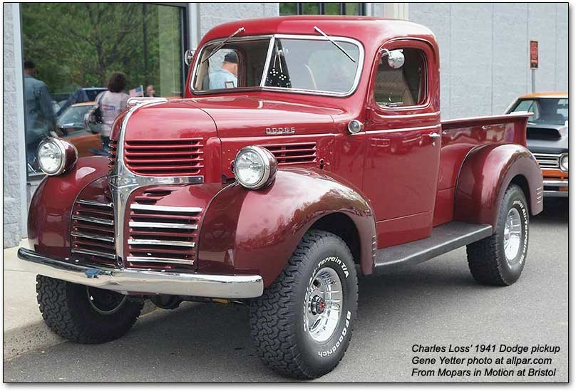 history of the dodge pickup trucks 1921 1953. Black Bedroom Furniture Sets. Home Design Ideas