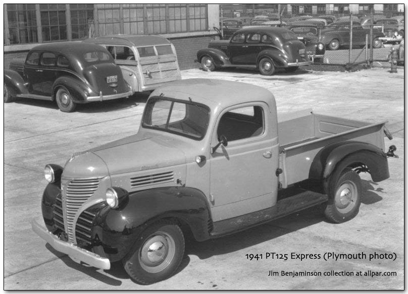 1941 Plymouth PT125 Express truck