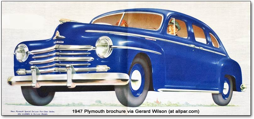 1947 chrysler corporation postwar models 1946 1948 (plymouth, dodge  at sewacar.co