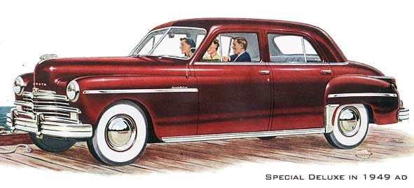 1949 special deluxe chrysler corporation 1949 1952 (plymouth, dodge, desoto)  at virtualis.co