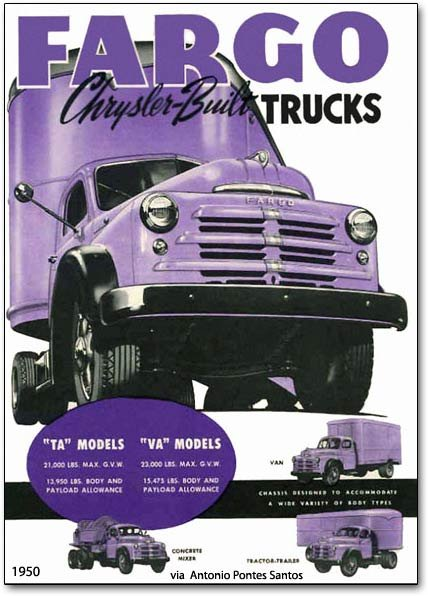 1950 Fargo trucks of Canada