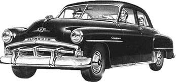 1951 Plymouth cars