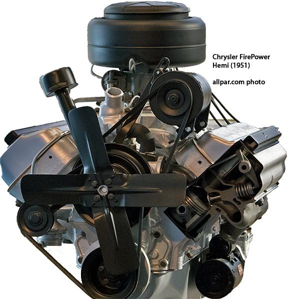 The Original Chrysler Hemi Engines Creation Of The