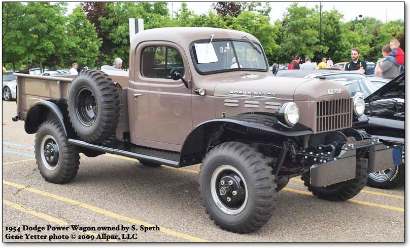 1954 dodge power wagon. 1954 Dodge Power Wagon owned