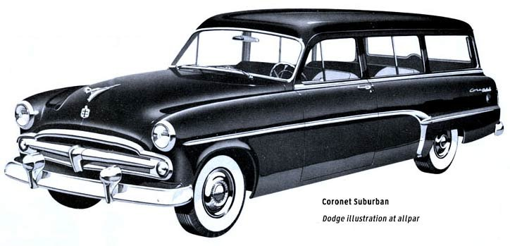 1954 Dodge wagon