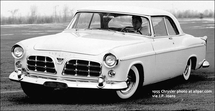 New Mustang For Bozo 1955-Chrysler-C300