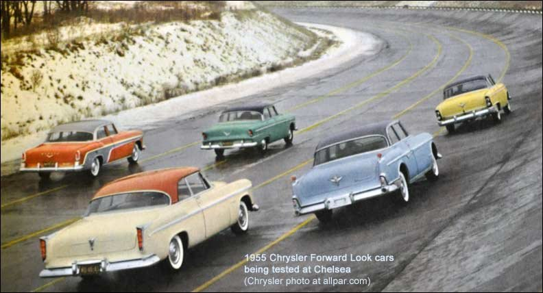 1955 Forward Look cars