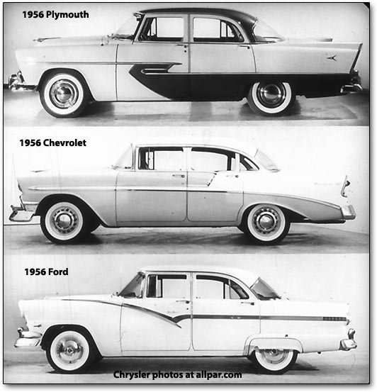 1956 Plymouths