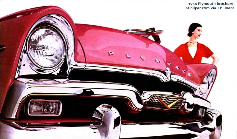 1956 Plymouth brochure