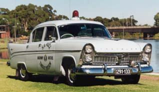 chrysler royal police car
