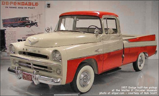 C Series Dodge Pickup Trucks (1954-1960): tougher and more stylish
