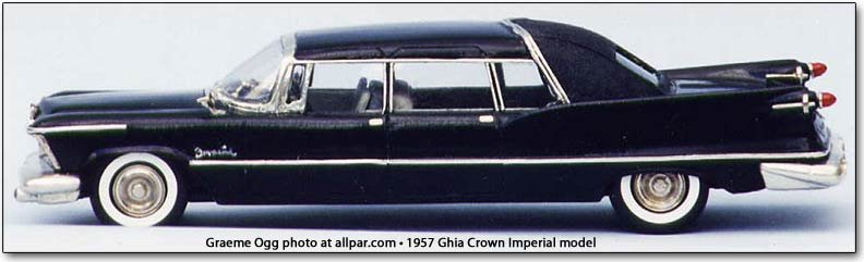 2019 Chrysler Imperial >> The Imperial Measure of Length: 1957 Ghia Crown Imperial (car model review)