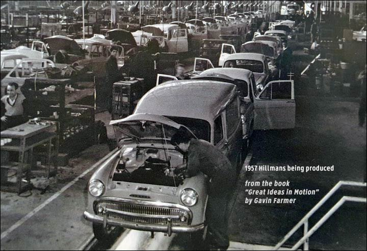 1957 Rootes factory