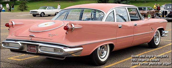 One Year They Were Involved In Styling The 1957 Crown Imperial Putting Various Proposals Together