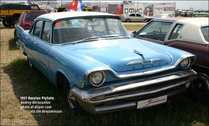 1957 russian plymouth based desoto