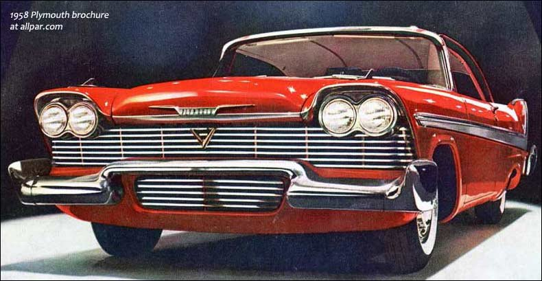1958 Plymouth cars