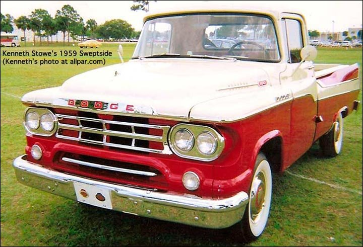 1959 sweptside pickup