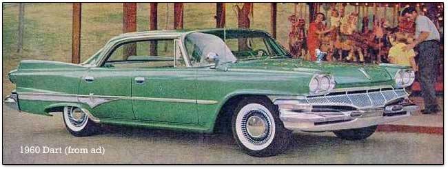 19601962 Dodge Dart cars