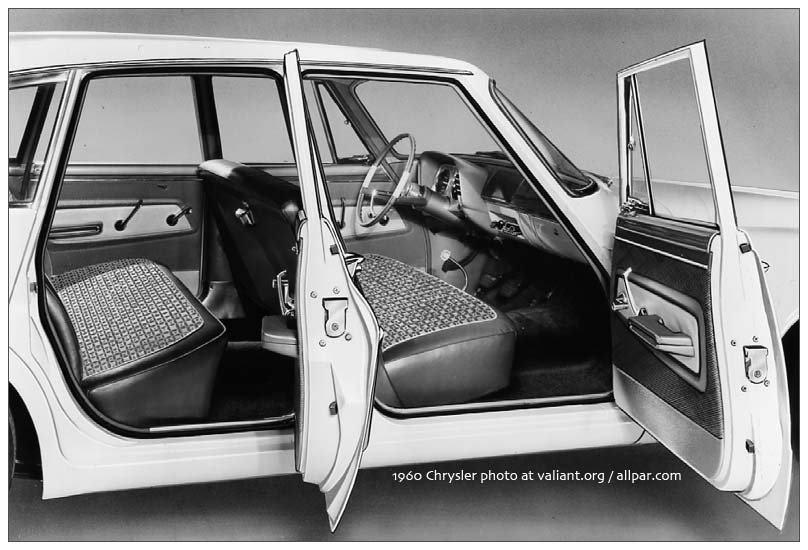 1960 Valiant seats