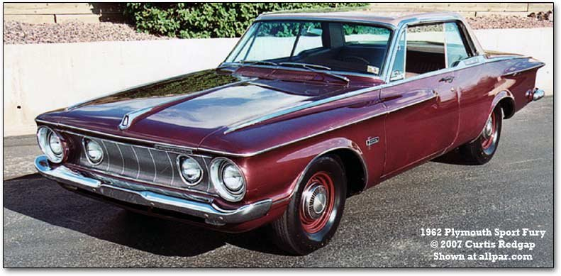 1962 Plymouth Sport Fury