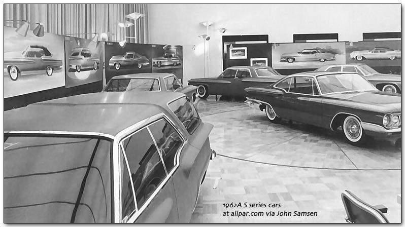 1962a s series Chrysler cars