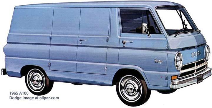 Dodge A-series vans: A-100