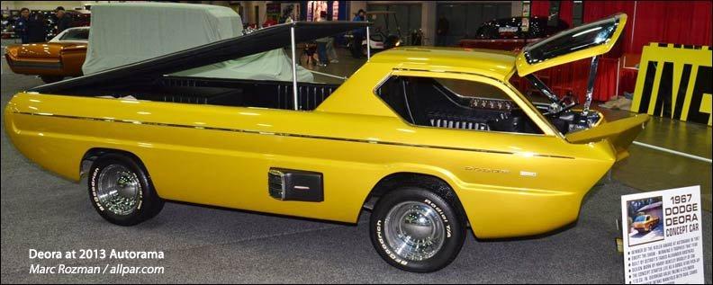 1967 dodge deora concept car. Black Bedroom Furniture Sets. Home Design Ideas